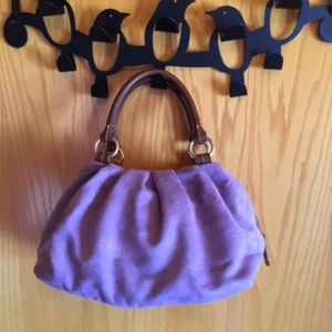 TOMMY HILFIGER purple purse